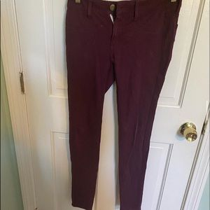 American Eagle Outfitters Pants & Jumpsuits - Maroon American eagle leggings